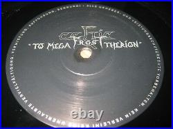 Celtic Frost-To mega therion LP, Noise Germany 1985, g/f cover, megarar, top