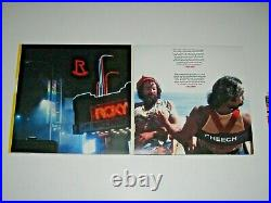 Cheech and Chong signed Up in Smoke 40th Anniversary Album Cover JSA Witness