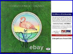 Christopher Cross Signed self-titled debut LP Record Album Cover PSA/DNA COA