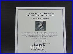 Cream Group Signed Album Cover Todd Mueller COA