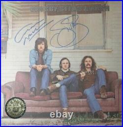 Crosby, Stills & Nash Hand Signed lp Album Cover Stills Nash (In Person)