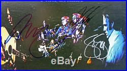 Crosby, Stills, Nash & Neil Young Signed'4 Way Street' Album Cover PSA #W04815