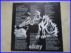 DIE TOTEN HOSEN Unter Falscher Flagge 1984 LP ZENSIERTES COVER + INNERSLEEVE