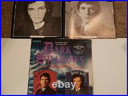Dark Shadows TV Soundtrack Vinyl Quentin Barnabas (POSTER+Cover signed by both!)