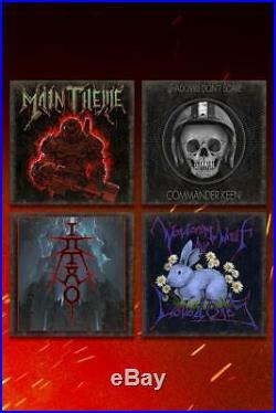 Doom Eternal Collector's Edition Vinyl Record Soundtrack 12 ALBUM Cover 4 SET