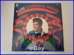ELVIS PRESLEY RARE Christmas Album 1970, Error with stereo on cover, mono on Rec
