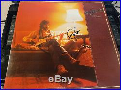 ERIC CLAPTON signed classic Backless album cover / Epperson LOA