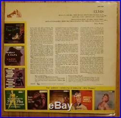 Elvis Presley Elvis LPM-1382 Ad Back Cover LP Second Album Original RARE