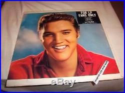 Elvis Presley-for Lp Fans Only-rare Misprint Cover Vg/vg+ Vinyl Record Album Lp