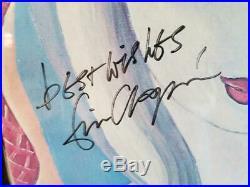 Eric Clapton Signed Album Cover