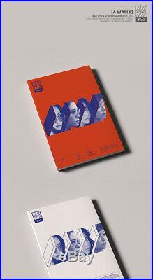 F(X) 4 WALLS 4th Album RANDOM COVER CD+Photo Book+Photo Card FX K-POP SEALED
