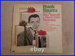 FRANK SINATRA SIGNED ALBUM Includes COA card and sticker on cover. MUST SEE