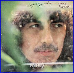 George Harrison Authentic Signed x2 Self Titled Album Cover With Vinyl BAS #A71977