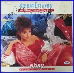 Gloria Estefan Signed Authentic Autographed Album Cover with Vinyl PSA/DNA #W69084