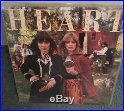 HEART Ann and Nancy Wilson Signed LITTLE QUEEN Album on cover