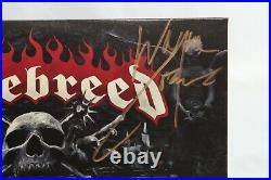 Hatebreed Autographed Signed Album Cover Concrete Confessional