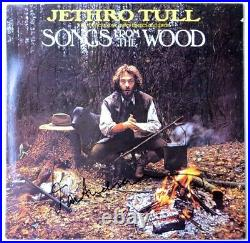 Ian Anderson Signed Autographed Record Album Cover Jethro Tull JSA LL48097
