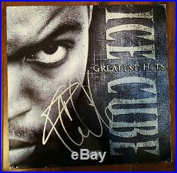 Ice Cube Signed Autographed Greatest Hits Vinyl Album Cover (No Vinyl) Proof JSA