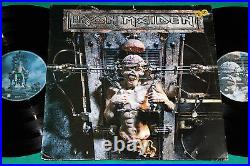 Iron Maiden The X- Factor BRAZIL 1st press 2LP 1995 Simple Cover
