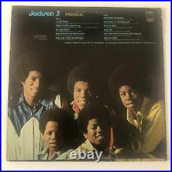 JACKSON 5 Signed Autograph THIRD ALBUM Record Cover LP X5 JSA MICHAEL
