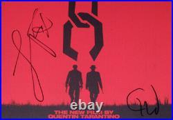 JAMIE FOXX CHRISTOPH WALTZ signed DJANGO UNCHAINED ALBUM COVER Exact Proof COA