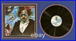 JOE WALSH Autograph SIGNED RECORD ALBUM COVER But Seriously Folks FRAMED JSA LOA