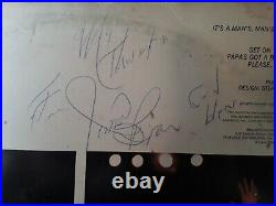 James Brown Autographed Album Cover