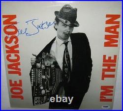 Joe Jackson Signed'i'm The Man' Album Cover Autograph Psa/dna Coa