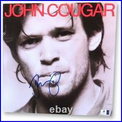 John Cougar Mellencamp Signed Autographed Album Cover Self Titled JSA U16599