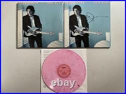 John Mayer Signed Autograph Sob Rock Vinyl LP Record Album Cover Pink Rare OOP