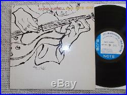KENNY BURRELL Same US BLUE NOTE LP 1543 LEX MONO ANDY WARHOL COVER 1956 rare