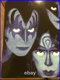 KISS'Creatures of the Night' Vinnie Cover 1983 Ltd Issue PURPLE vinyl Rare Lp