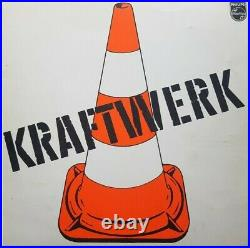 KRAFTWERK 1 Original LP/Record Philips 6305 058 von 1970 Germany FOC-Klappcover