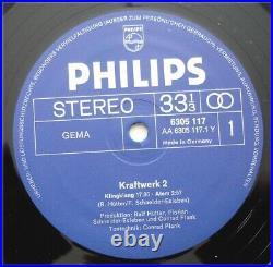 KRAFTWERK 2 Original LP/Record Philips 6305 117 von 1971 Germany FOC-Klappcover