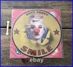Katy Perry Smile Picture Disk All 6 Picture Disks + Signed Album Cover