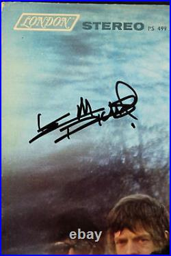 Keith Richards Signed Album Cover With Vinyl Auto Graded Gem 10! PSA/DNA #AB08113