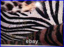 Kiss Full Autographed Album LP Cover ANIMALIZE Vinyl COA Guarantee 100% CARR