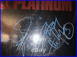Kiss Full Autographed Album LP Cover DOUBLE PLATINUM Vinyl COA Guaranteed 100%