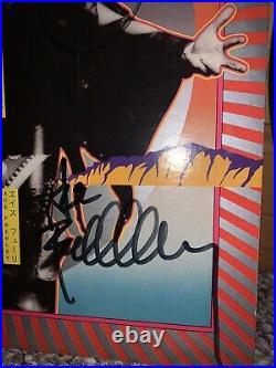 Kiss Full Autographed Album LP Cover Hotter Than Hell Vinyl COA Guarantee 100%