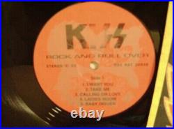 Kiss Rock And Roll Over RARE LP Russian Press 1993 Different cover
