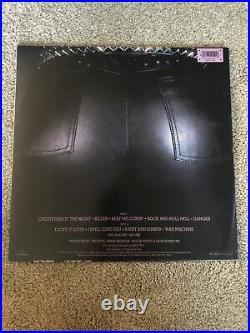 Kiss creatures of the night alternate cover 1985 LP record vinyl paul gene
