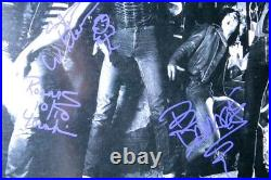 Kix Band Autographed Record Album Cover Whitman Forsythe Younkins JSA HH36299
