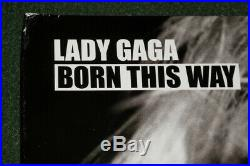 LADY GAGA signed Autographed BORN THIS WAY VINYL ALBUM COVER LP PROOF COA