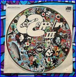 LED ZEPPELIN Led Zeppelin III URUGUAY UNIQUE COVER RARE VINYL LP SPANISH TITLES