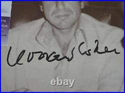 LEONARD COHEN SIGNED DEATH OF A LADIES MAN VINYL ALBUM COVER WithJSA PROOF