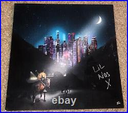 LIL Nas X Signed 7 Record Album Cover 7 Ep Old Town Road Rap Country