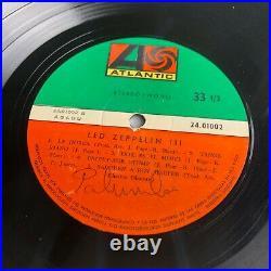 Led Zeppelin Vinyl Record Uruguay Zeppelin 3 ALTERNATIVE COVER RARE