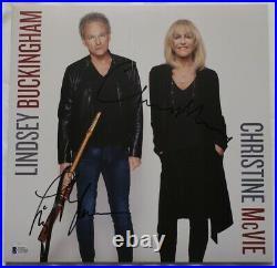 Lindsey Buckingham/Christine McVie Signed Autographed Album Cover BECKETT #C791
