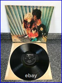 Lp Vinyl Jimi Hendrix Album Band Of Gypsys Banned Cover 2406 002 1970 Uk Press
