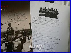 MADNESS THE RISE & FALL Autograph signed Vinyl LP Cover MINT Record UK Album